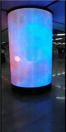 谢家集区LED柱形屏哪家好,LED柱形屏