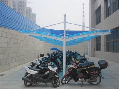 无锡自行车棚制造厂家 来电咨询「上海虹爵膜结构工程供应」
