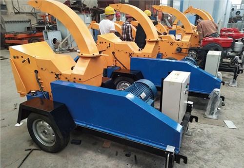 粉碎机移动树枝粉碎机高喷式移动树枝粉碎机价格 海通机械供应