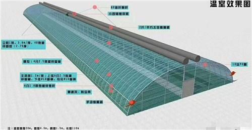 曲靖新型日光温室哪家好 欢迎来电「山东华耕温室骨架配件供应」