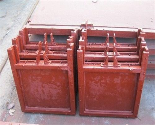湖北法兰式铸铁闸门报价 华远供应