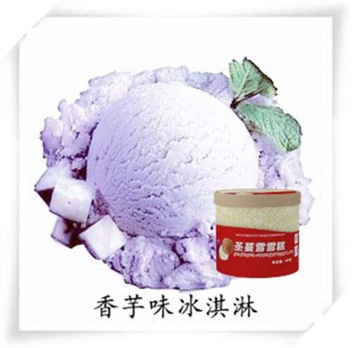 宁夏圣蔓雪4kg桶装冰淇淋要多少钱 欢迎咨询「上海昊雪食品供应」