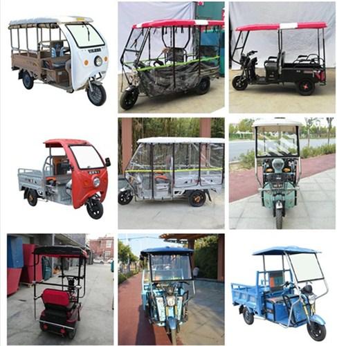 安阳钢化玻璃三轮车蓬加工生产 河南汉邦机械设备供应