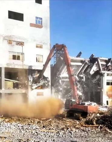 广东化工厂厂房拆除信息推荐,厂房拆除