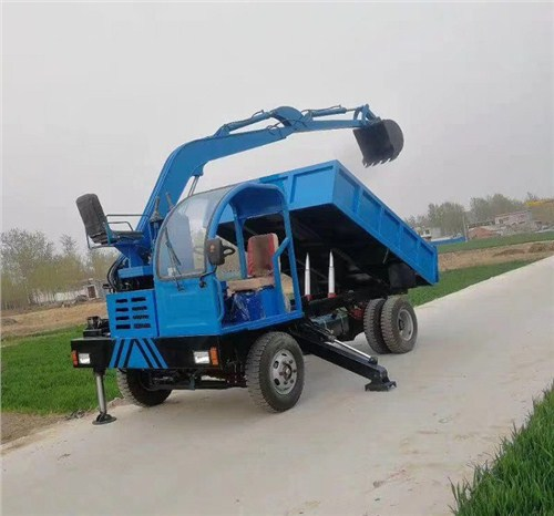 江苏四驱随车挖 创新服务 济宁市恒泰源工程机械供应