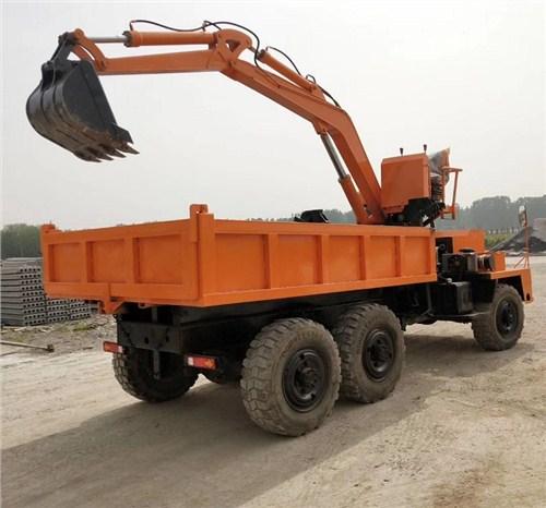 重庆小型挖掘运输车6吨随车挖参数表,随车挖