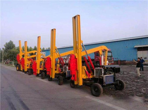 Guangdong pile driver sales manufacturers have a reputation, Jining Hongdi machinery and equipment supply