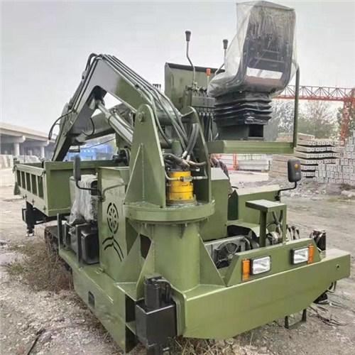 广东四驱履带随车挖 济宁久征工程机械供应