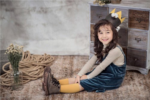 兒童攝影作品圖片
