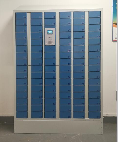 哈尔滨刷脸智能手机柜定制,智能手机柜