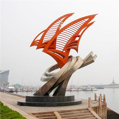 河北定制不锈钢雕塑规格尺寸 和谐共赢 曲阳县绿傲园林雕塑供应