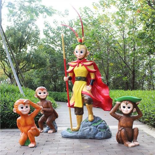 贵州玻璃钢雕塑厂家可量尺定做 和谐共赢「曲阳县绿傲园林雕塑供应」