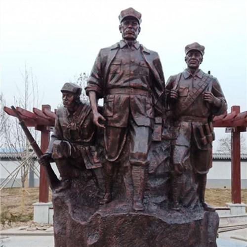 河北市政鑄銅鍛銅雕塑廠家價格如何計算 客戶至上 曲陽縣綠傲園林雕塑供應