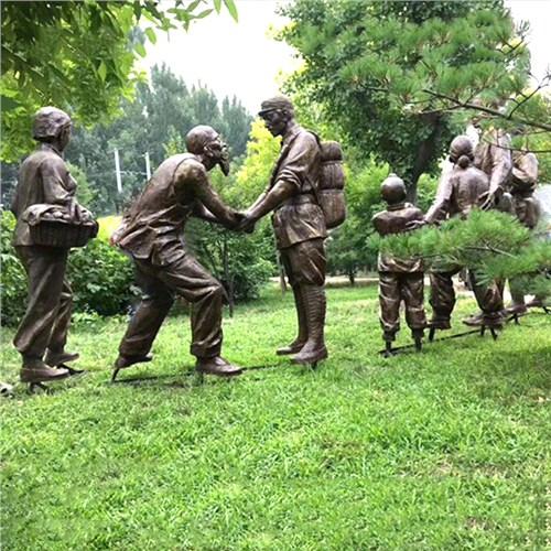 保定市政铸铜锻铜雕塑厂家择优推荐 诚信服务「曲阳县绿傲园林雕塑供应」