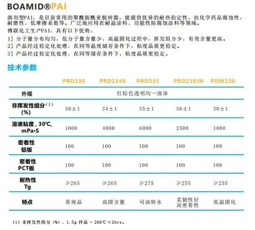 上海优质PAI厂家报价 南通博联化工供应