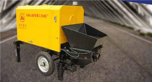 福州小型细石混凝土泵厂家 服务至上 南京鲁科重工机械供应