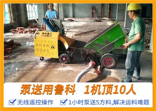山东青岛二次结构泵 欢迎来电 南京鲁科重工机械供应