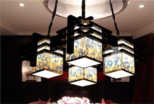 青岛新中式灯具