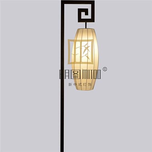 明图中式灯具