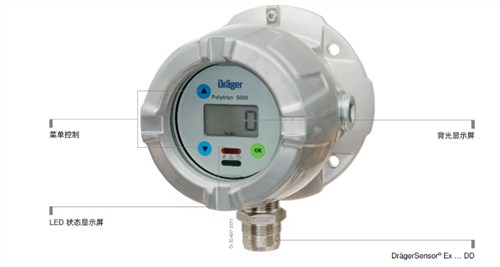 金华德尔格固定式可燃气体检测仪polytron5200高性价比的选择 推荐咨询 嵘沣供应