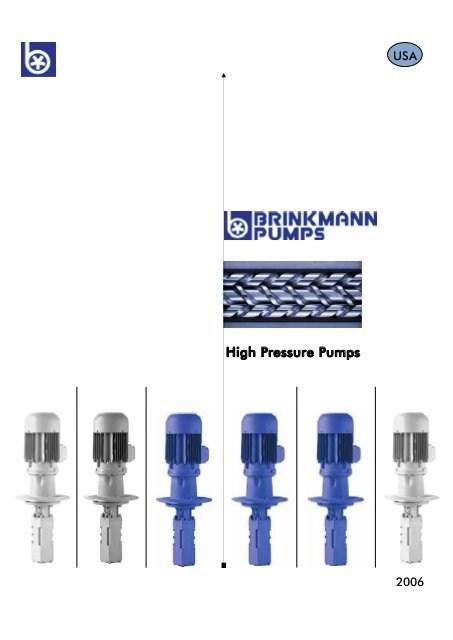 陕西进口BRINKMANN液压泵 上海索尔泰克贸易供应