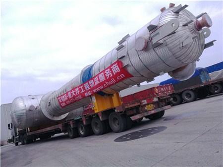 找上海大件车队超限货物运输上海至六安大件运输公司