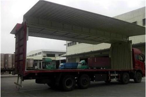 托运物流整车往返价格 上海晨结物流供应