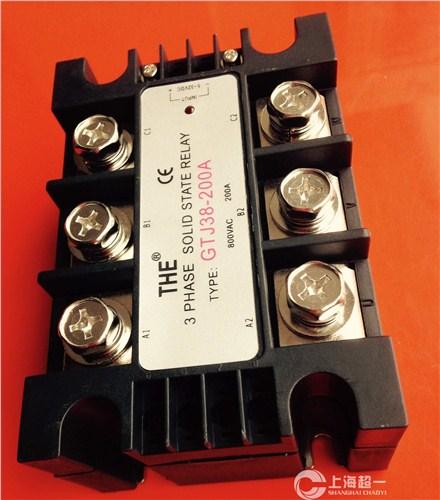 三相固态继电器GTJ38-200A  三相固态继电器销售 三相固态继电器代理 超一供