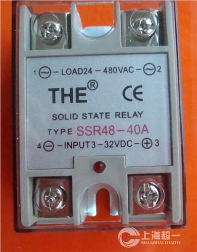 上海无锡天豪固态继电器SSR48-40A上海固态继电器SSR48-40A代理 超一供