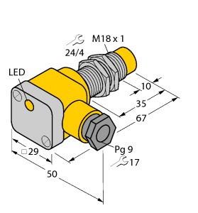上海销售 图尔克 TURCK 传感器Bi8U-EM18W,图尔克 TURCK 传感器
