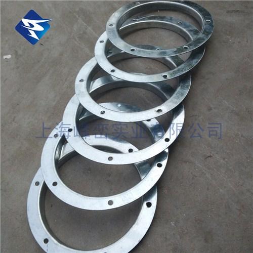 螺旋风管不锈钢钢带法兰-风管角铁法兰-峰峦供