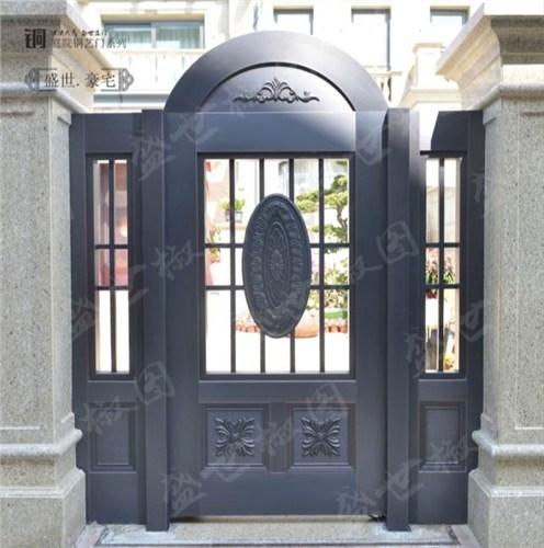 南通欧式庭院铜艺门 诚信服务「上海浩屿实业供应」