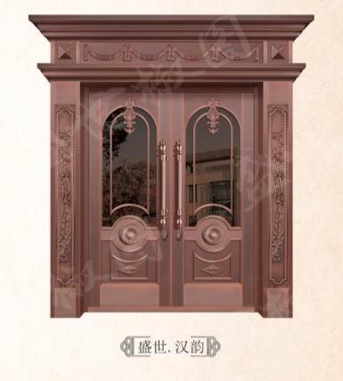 无锡别墅铜质门价格,铜质门