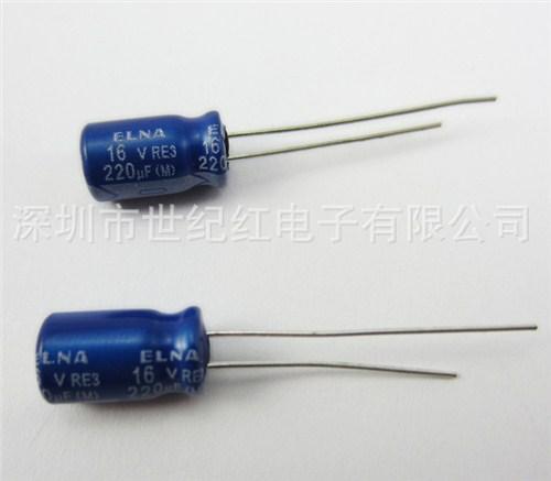 提供深圳 ELNA RE3 220UF 16V 价格世纪红供