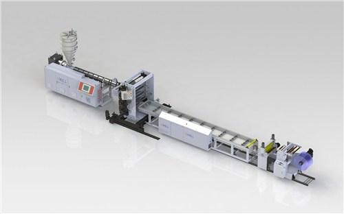 超透软PVC板材设备-超透软PVC板材生产线-金韦尔供