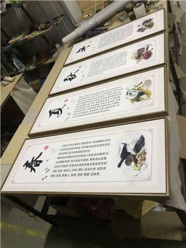 奉贤区酒店装修裱画配框口碑好 诚信经营「上海韭艺工艺品供应」