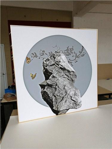 松江区铝合金相框哪家专业 和谐共赢「上海韭艺工艺品供应」