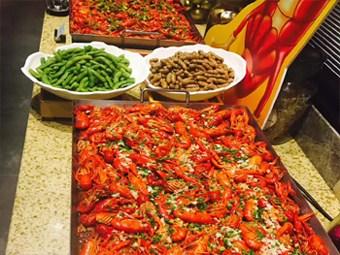 北京五月罗马海鲜自助好货源好价格「昆彭供」