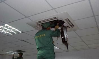 上海中央空调清洗 中央空调清洗哪家好 朗仕洁供