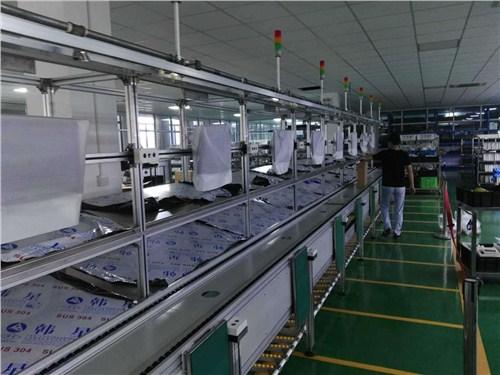 上海电商物流环形皮带线价格 电商物流环形皮带线生产 鸣领供