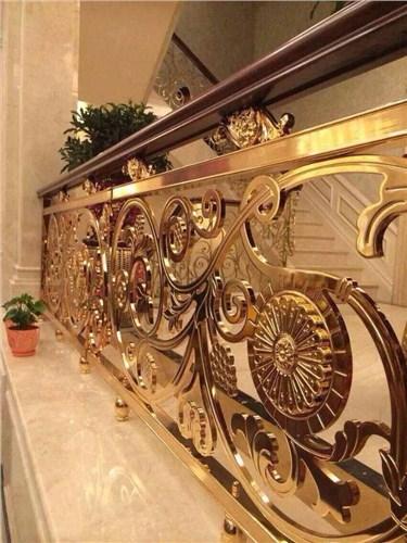 江苏法式铜楼梯厂家供应 上海普孜铜制品供应