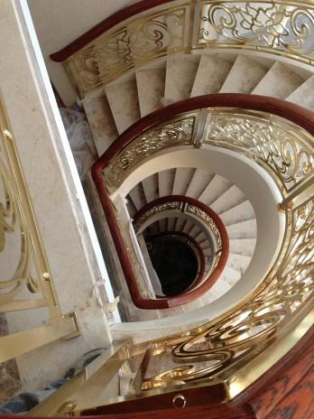 江苏法式铜楼梯全国发货 上海普孜铜制品供
