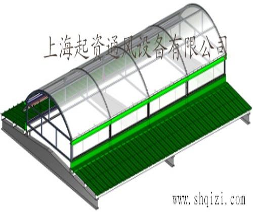 弧线型通风天窗安装 通风天窗分类 起资供