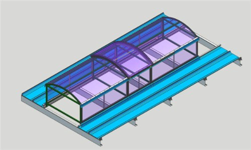 专业上海圆拱型电动采光排烟天窗厂家,圆拱型电动采光排烟天窗设计 起资供