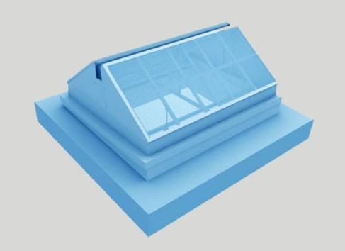 起资三角型电动采光排烟天窗 值得信赖 三角型电动采光排烟天窗价格优惠 起资供