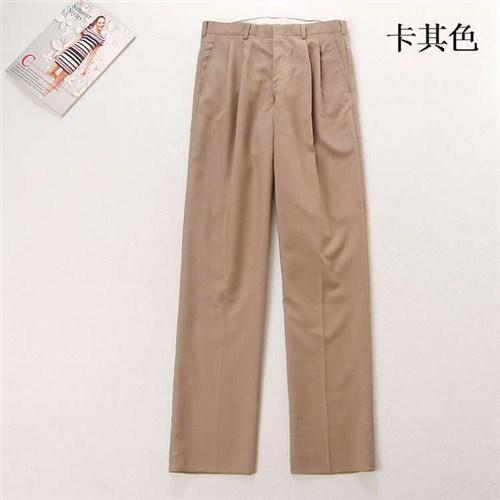 上海男士西裤优选企业 有口皆碑 上海水潮商贸供应
