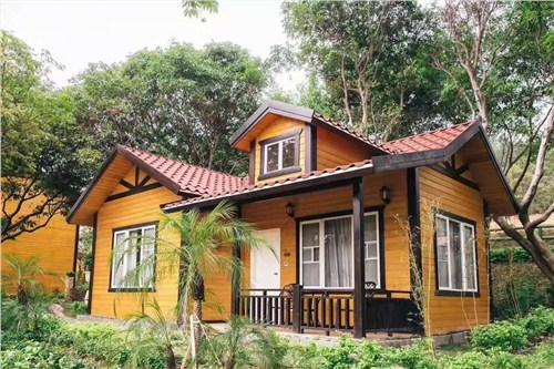 湖南直销木屋案例制造厂家 上海圣特豪森木结构供应