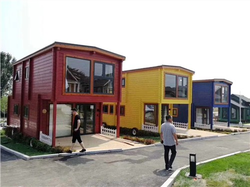 湖北直销度假木屋 上海圣特豪森木结构供应