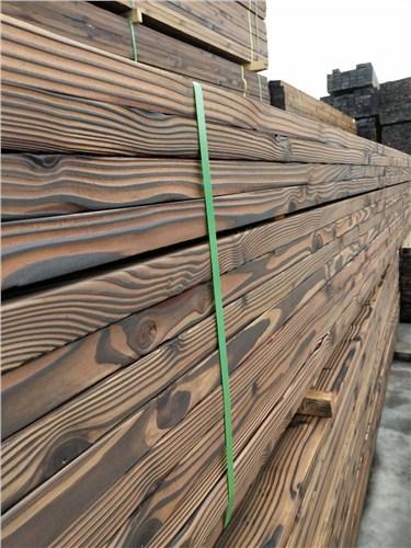 浙江口碑好碳化木哪家好 上海圣特豪森木结构供应