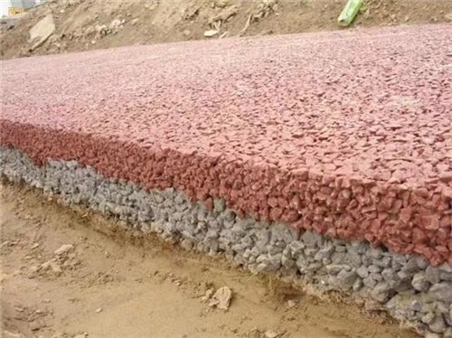 福建优良彩色透水道路施工,彩色透水道路
